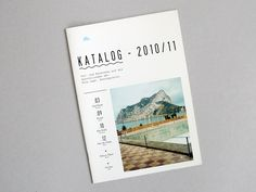 Katalog 2010-11 / Carsten Güth