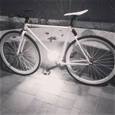 Fixed gear bike. Purefix