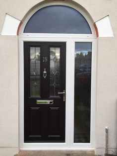 Composite Door Entrance Design Clic Doors Traditional Looks Tiny House Front Arch Bow