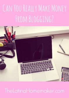 Can You Really Make Money From Blogging? This is the age-old question most bloggers, and those contemplating blogging, ask. Yes you can! Find out how I did it.