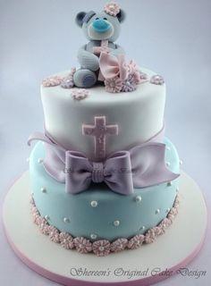 Bolo de batizado - modelos de dar água na boca! - Mil dicas de mãe  (Amazing christening cakes!)