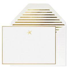 Sugar Paper Starfish Note Card Set