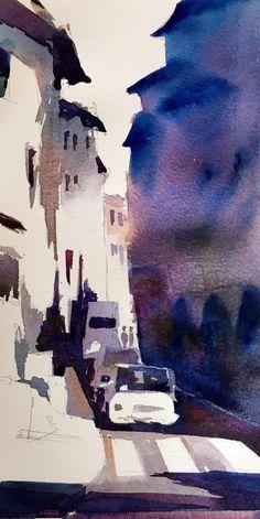 Streetview watercolor #streetview