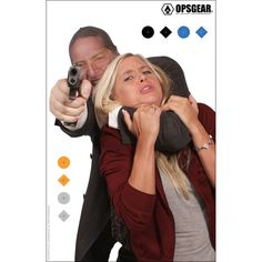 OPSGEAR Real Threat Target - Hostage Taker ooooo you can pretend that is me being the victim. Pretend real hard though cause it would never happen ;)