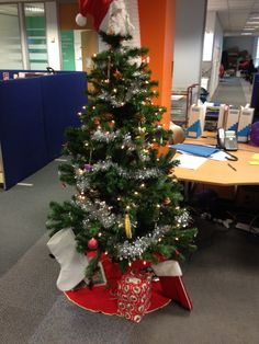 Our Scope HQ Christmas tree is up. What will you be hoping is under your tree this year?
