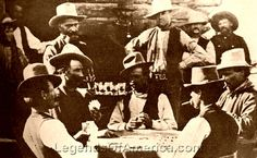 The history of poker in the Old West: Playing Poker at Egan's Saloon in Burns, Oregon, 1882 legendsofamerica.com