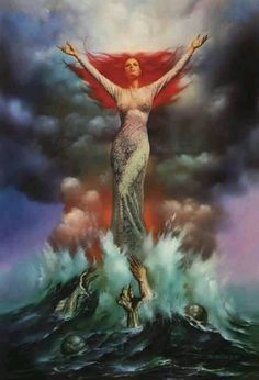 ~**~ Cancer, Scorpio and Pisces~**~ The water signs are attuned to waves of emotion, and often seem to have a built-in sonar for reading a mood. This gives them a special sensitivity in relationships, knowing when to show warmth and when to hold back. At their best, they are a healing force that brings people together -- at their worst, they are psychic vampires, able to manipulate and drain the life force of those closest to them.