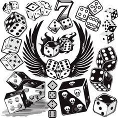 gambling tattoo designs - Google zoeken