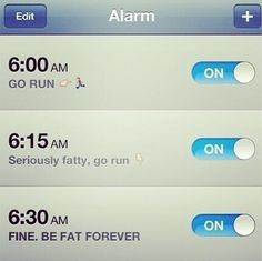 This is hilarious!  Maybe that'll motivate me to get up and exercise :)