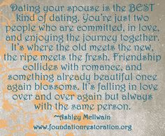 Dating your spouse while separated