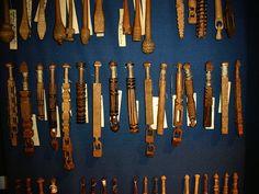 Bolillos de la Republica Checa. (Muzeum Vamberk)