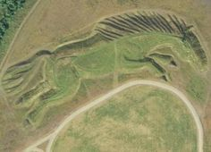 """Best Google Earth Coordinates HORSES AND HORSESHOES IN ENGLAND Coordinates: 51 ° 39'2.93 """"N 3 ° 15'23.48"""" W"""