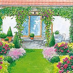 Meer dan 1000 ideeën over Reihenhausgarten op Pinterest ...