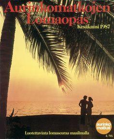 #Aurinkomatkat lomaopas kesäkausi 1987 #retro