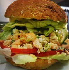 #burger #pulledsalmon #live