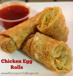 Egg Rolls | Asian Gourmet | Pinterest | Chinese Egg Rolls, Chinese Egg ...
