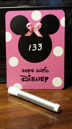 Keep track of days til Disney !