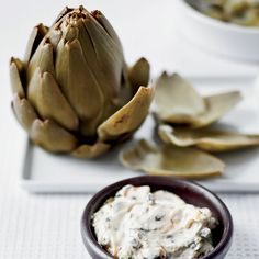 """""""You can 'turn' the artichokes, but that's a bit fancy and laborious,"""" says Richard Blais about the chef technique of trimming the hearts down. It's m..."""