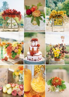 Cinnamon and Citrus Wedding Inspiration