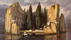 Arnold Böcklin, L'isola dei morti, 1883