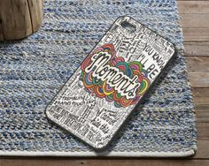 Ed Sheeran Moments Lyrics Case fit for iPhone by CartwrightArts, $16.99