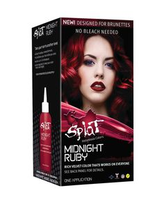 Brunettes Can Now Get Rainbow Hair Without Using a Drop of Bleach  Splat Midnight Hair Color in Ruby, Indigo, or Amethyst ($9 each)