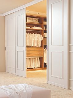 Locate the best clothing area ideas, styles & ideas to match your design. Check out pictures of clothing areas & closets to produce your perfect house. Ankleideraum Design Dressing Room Design for Inspiration You Walk In Closet Design, Bedroom Closet Design, Bedroom Wardrobe, Wardrobe Design, Wardrobe Closet, Built In Wardrobe, Closet Designs, Bedroom Storage, Master Closet