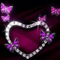 Diamond heart.....BD. Best Wishes and Love xoxoxo
