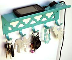 shelf/key holder...
