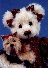 WOW! The Yorkie looked so real I had to share it with real dog lovers not just my bear friends!!!