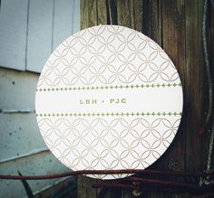 Full Circle Press Letterpress, Coasters, Decorative Plates, Paper, Home Decor, Typography, Drink Coasters, Interior Design, Letterpress Printing
