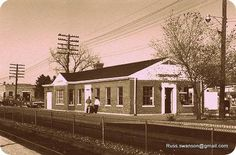 The old Glenview train station