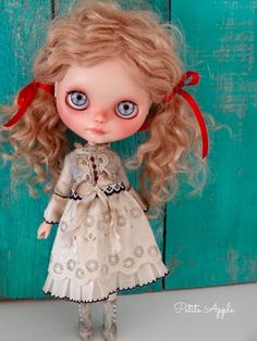 "Blythe doll dress ""Past life"" outfit - Victorian style  by marina, $68.00 USD"