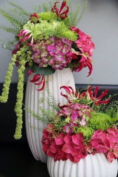 Pretty flower display