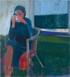 "Richard Diebenkorn, ""Coffee"" (1959) painting 