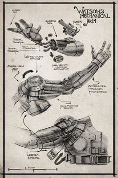 steam punk arm idea