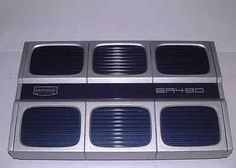 Amplificatore Em-Phaser 4 Ch. Gray Blu Design 410x62x250 Hi-Fi Sound Performance