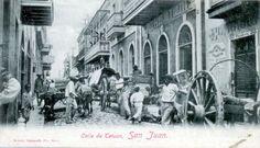 Rue de Tetuan à San Juan en 1898.