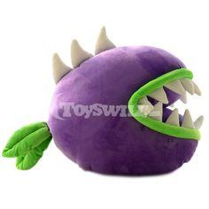 Figure Plush Toy Plants vs Zombies Chomper Back Cushion Throw Pillow