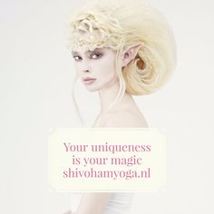 Your uniqueness is your magic ♡ http://www.shivohamyoga.nl/ #inspiration #indigo…
