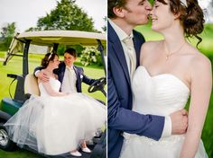 #wedding #golf #kiss