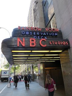 NBC Studios, 30 Rockefeller Plaza, New York City. October 17, 2014.