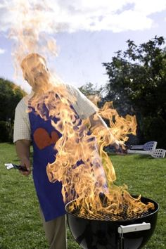 A barbecue gone wrong