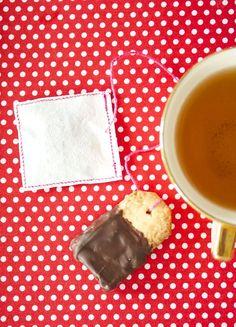 gateau couv thé sachet