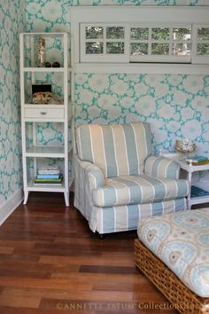 Calling it Home: Anthropologie Wallpaper