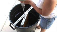 Homemade Honey Extractor, via YouTube.