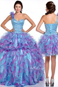 E1540 Milano Formals Collection Quinceanera Great deal 2 dresses in 1!!!