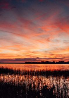 Marsh sunset in Savannah Georgia. Photographed by Kristen M. Brown, Samba to the Sea for The Sunset Shop. sunset Savannah, sunset Savannah Georgia, sunset river, sunset Moon River, sunset live oak, sunset oak tree, sunset marsh, sunset, sunsets, beach sunset, sunset ocean, sunset photography, sunset pictures, sunset sky, sunset beautiful, sunset background, Cielo atardecer, lowcountry living, lowcountry marsh, lowcountry lifestyle, lowcountry savannah georgia