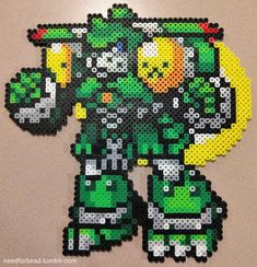 Digimon: MegaGargomon Digimon is owned by Saban Toei Animation and Bandai. Find more Digimon perler bead designs on my Tumblr! Ko-fi Patreon