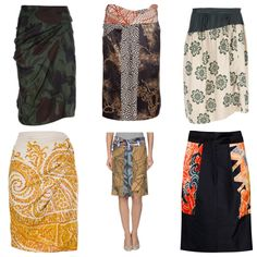 Gorgeous Dries Van Noten skirts - DiViNe!